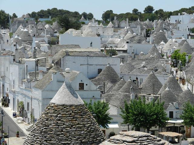 Alberobello village, Italy