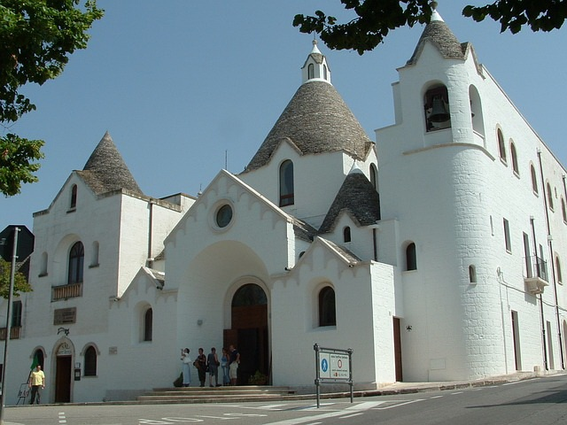 Alberobello church - Chiesa di St. Antonio
