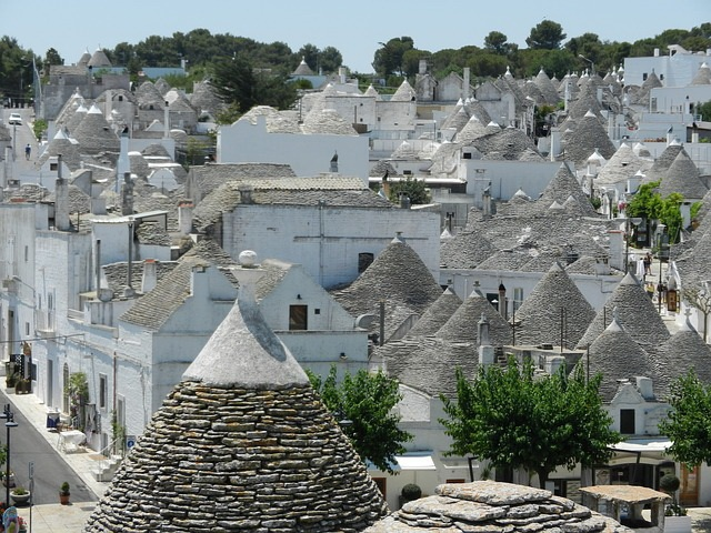 Alberobello village, Italy