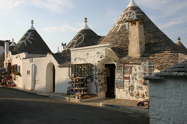 trulli, shop, Alberobello